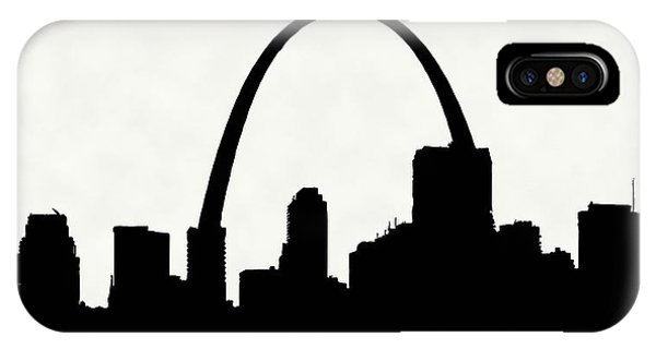 St Louis Silhouette With Boats 2 IPhone Case
