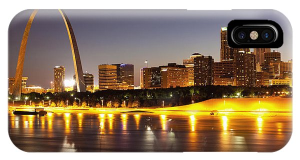 St Louis Skyline IPhone Case