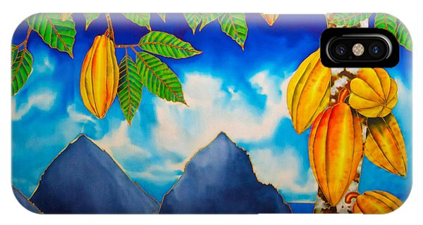 St. Lucia Cocoa IPhone Case