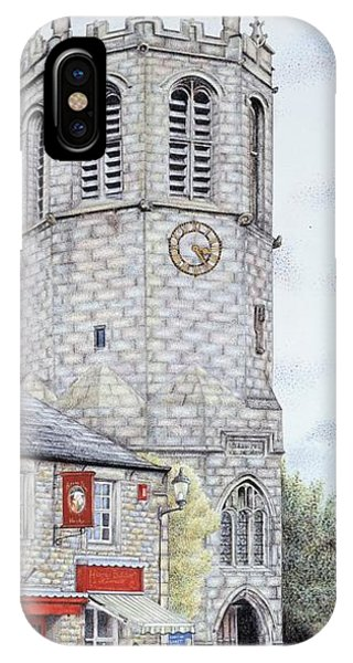 St Margarets Church Clock  Hornby  Lancashire IPhone Case