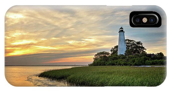 St. Mark's Lighthouse IPhone Case