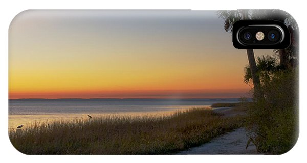 Wakulla iPhone Case - St. Mark's Sunset by Bill Chambers