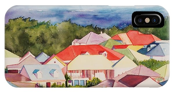 St. Martin Rooftops IPhone Case