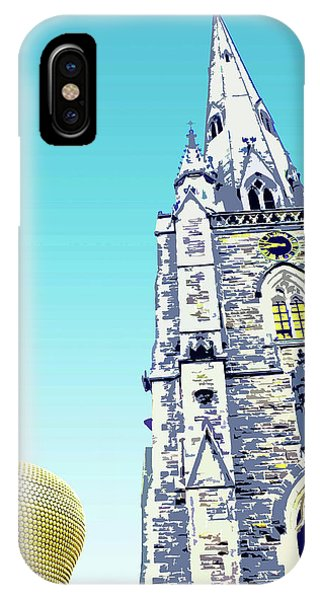 St Martins And Selfridges IPhone Case