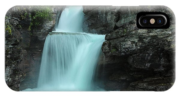 St. Mary Falls IPhone Case