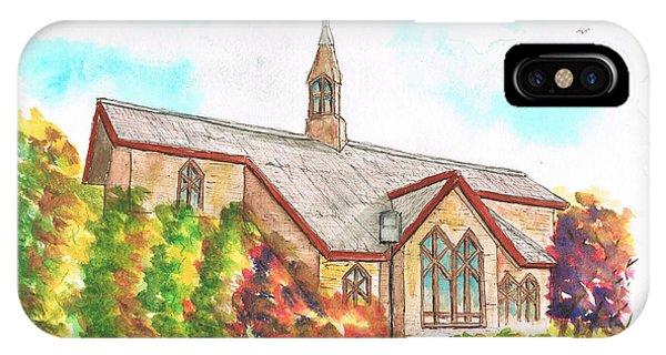 St. Mary's Catholic Church, Brighton, Utah IPhone Case