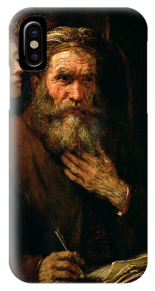 St Matthew And The Angel IPhone Case