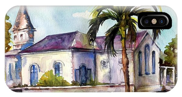 St. Matthews Church, Nassau IPhone Case