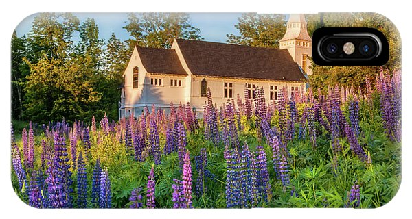 St Matthews Church - Sugar Hill New Hampshire  IPhone Case