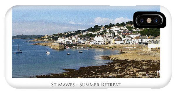 St Mawes - Summer Retreat IPhone Case