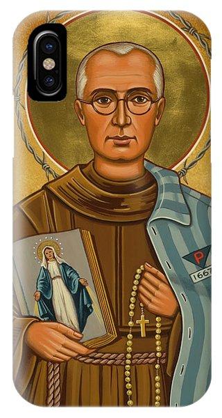 St. Maximilian Kolbe - Jckol IPhone Case