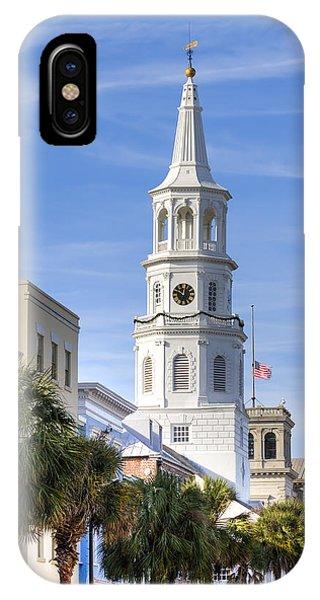 Michael iPhone Case - St Michaels Church Charleston Sc 3 by Dustin K Ryan
