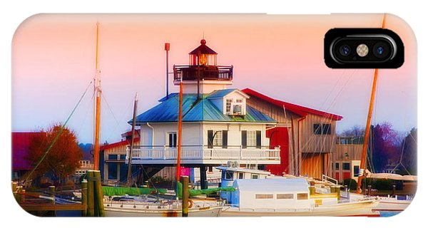 Michael iPhone Case - St. Michael's Lighthouse by Bill Cannon