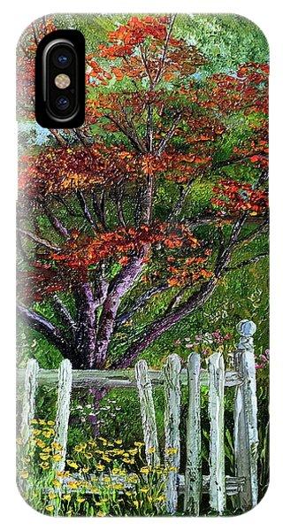 St. Michael's Tree IPhone Case