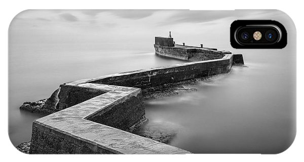 St Monans Breakwater IPhone Case