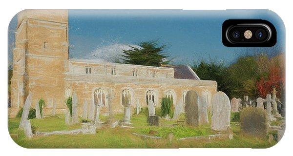 Dorset iPhone Case - St Nicholas Church 3 by Roy Pedersen
