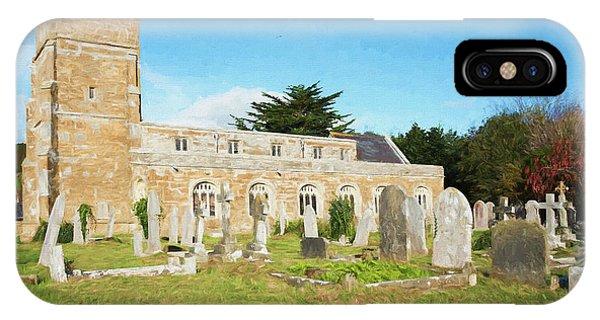 Dorset iPhone Case - St Nicholas Church 4 by Roy Pedersen