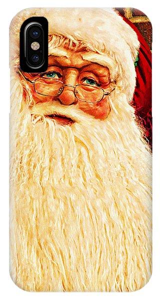 St. Nicholas Melting Canvas Photoart IPhone Case