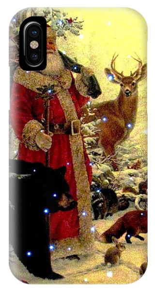 St Nick  And Friends IPhone Case