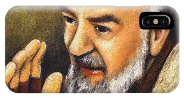 St. Padre Pio Of Pietrelcina - Jlpio IPhone Case