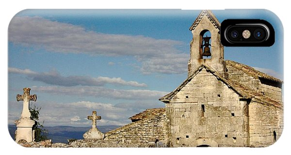 St. Pantaleon Church,  Luberon, France IPhone Case