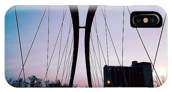 St. Patricks Bridge At Sunrise IPhone Case