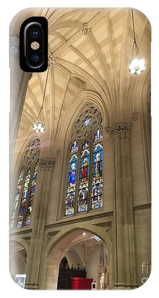 St. Patricks Cathedral Interior IPhone Case