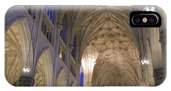 St. Patricks Cathedral Main Interior IPhone Case