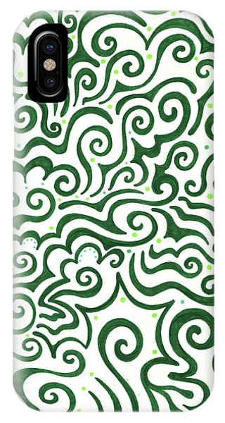 St Patrick's Day Abstract IPhone Case