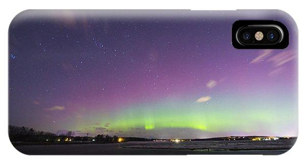 St. Patrick's Day Aurora 2015 IPhone Case