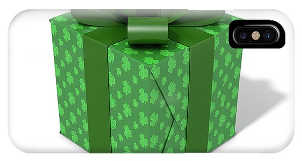 St. Patricks Day iPhone Case - St Patricks Day Cube Gift by Allan Swart