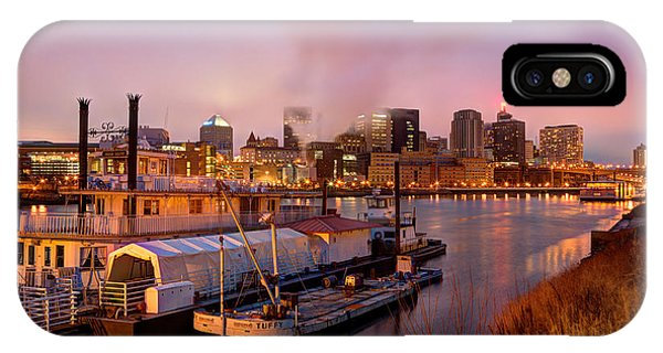 St Paul Minnesota Its A River Town IPhone Case