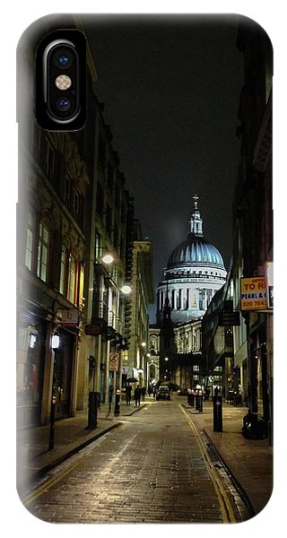St. Pauls By Night IPhone Case