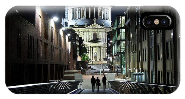 iPhone Case - St Paul's Cathedral At Night by Jane Rix