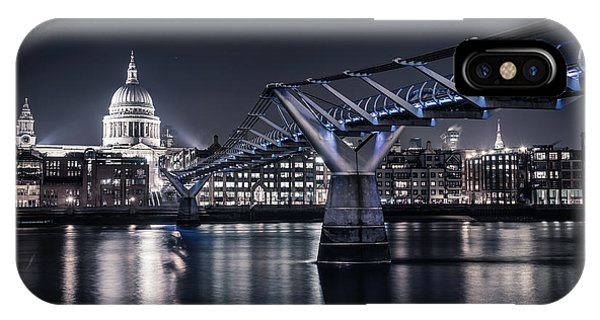 IPhone Case featuring the photograph St Pauls Cathedral by James Billings