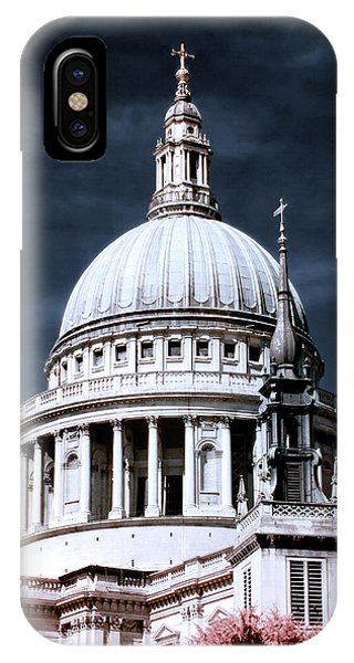 St. Paul's Cathedral's Dome, London IPhone Case