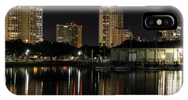 St. Pete At Night IPhone Case
