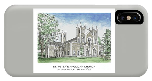 St. Peter's Anglican Church IPhone Case