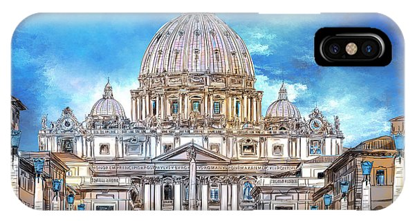 St. Peter's Basilica IPhone Case