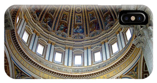 St. Peters Basilica Dome IPhone Case