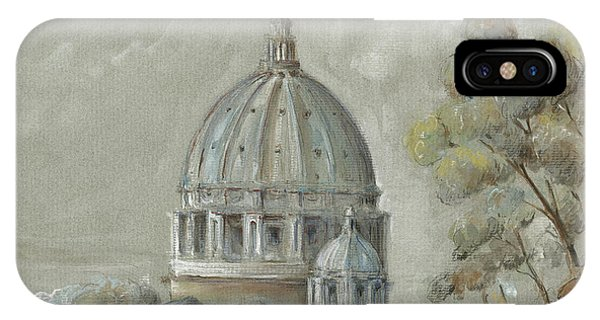 Ancient Rome iPhone Case - St Peter's Basilica Rome by Juan Bosco