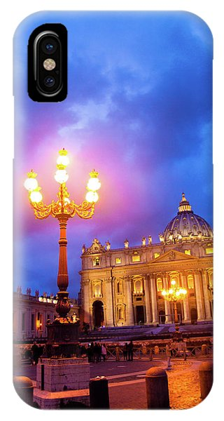 St. Peters Cathedral At Night IPhone Case
