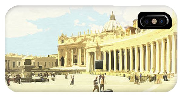 St. Peter's Square The Vatican IPhone Case