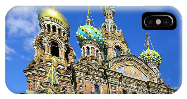 St. Petersburg Church Of The Spilt Blood IPhone Case
