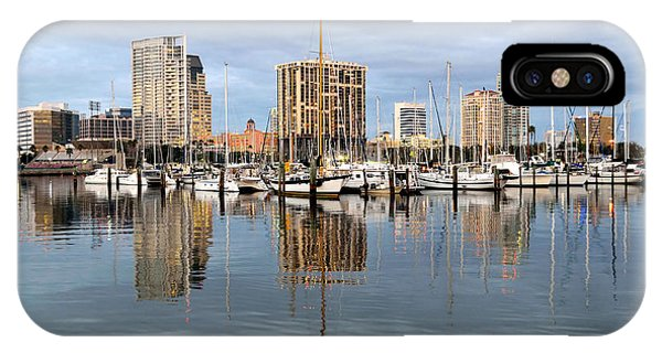 St Petersburg Marina IPhone Case