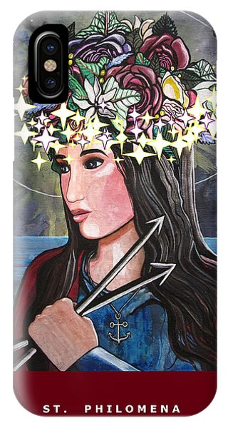 St. Philomena IPhone Case