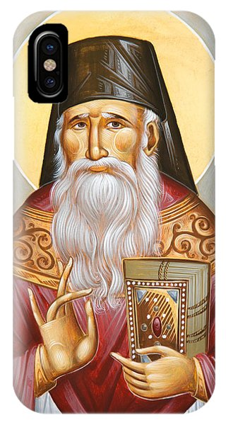 St Porphyrios Of Kavsokalyvia IPhone Case