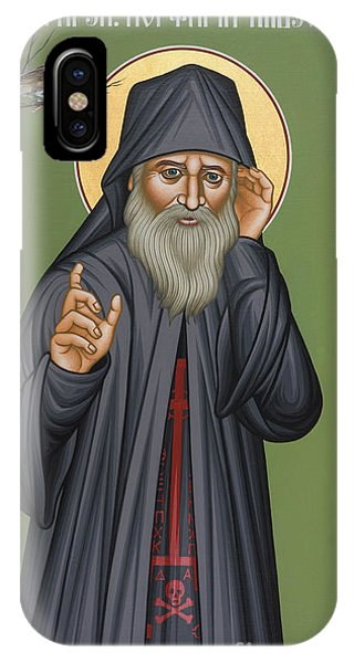 St. Porphyrios Of Kavsokalyvia - Rlpok IPhone Case