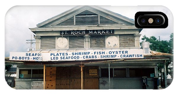 St Roch Market IPhone Case