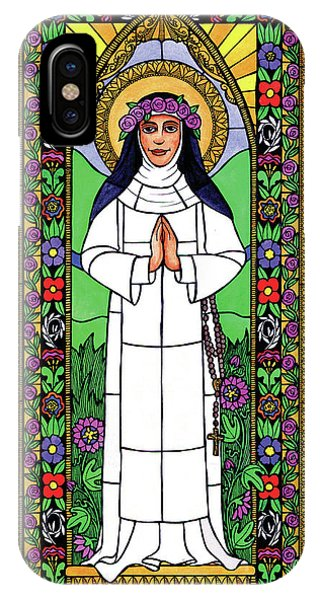 St. Rose Of Lima IPhone Case